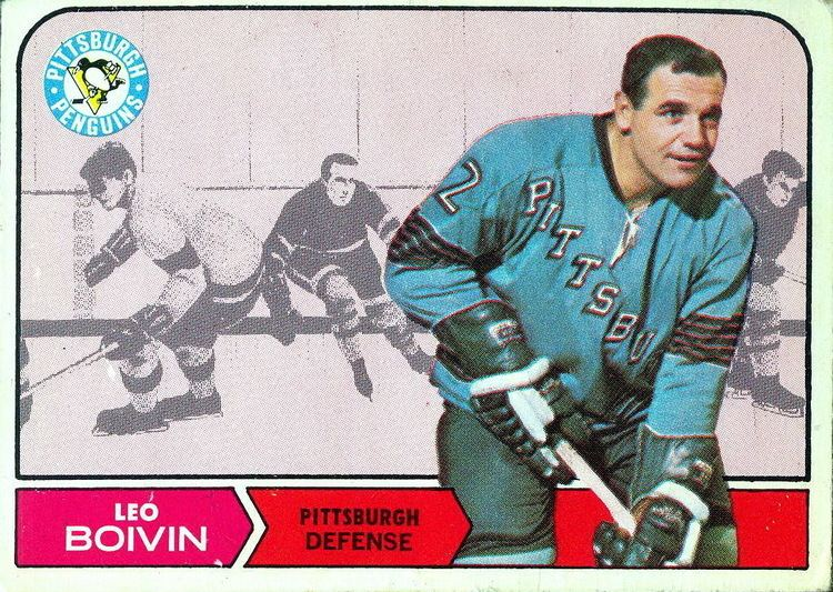 Leo Boivin Collection of hockey cards Choose by producer Topps from