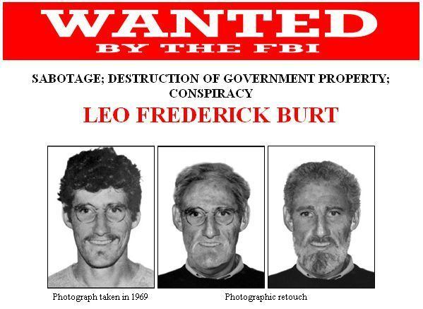 Leo Burt 40 years later FBI still looking for suspected terrorist Leo Burt