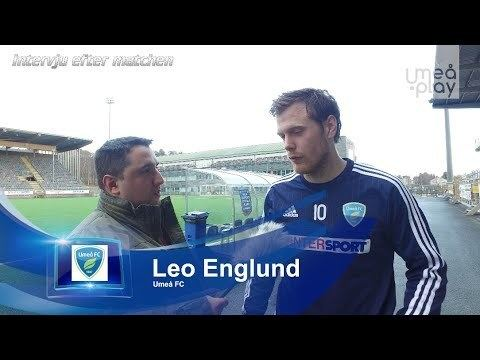 Leo Englund Efter matchen Gldjesng och intervju med mlskytten Leo Englund