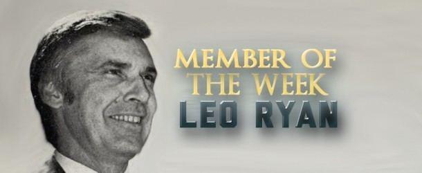Leo Ryan Leo Ryan ClotureClubcom