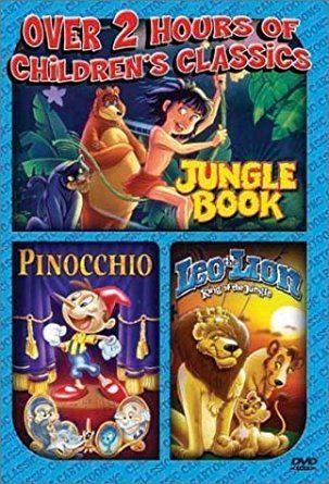 Leo the Lion: King of the Jungle Amazoncom Jungle Book Pinocchio Leo the Lion King of the