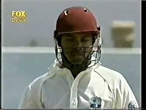 Leon Garrick out 1st ball on test debut YouTube