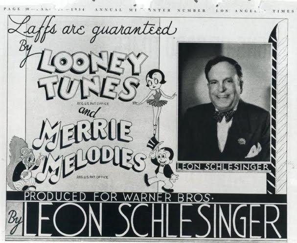 Leon Schlesinger Leon Schlesinger in Dollars and Scents Animation Magazine