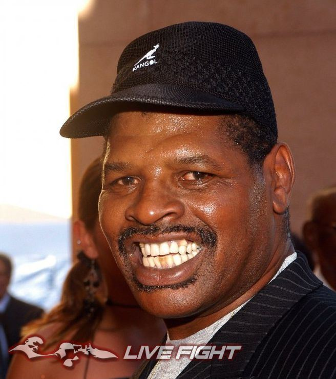 Leon Spinks Former heavyweight champion Leon Spinks gives rare and
