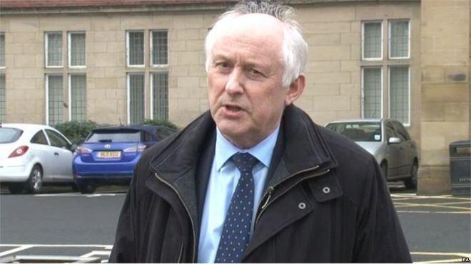 Leonard Fenwick Concerns over leadership of trusts Sir Leonard Fenwick BBC News