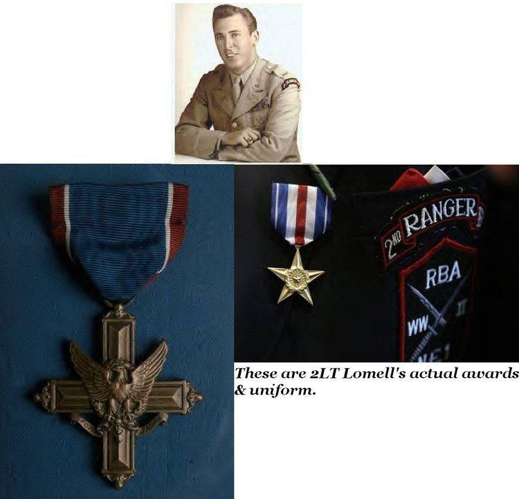 Leonard Lomell Len LOMELL 2nd Ranger Bn WW2 Veteran VETERAN