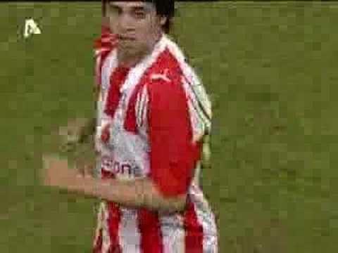 Leonel Núñez Leonel Nunez scores at OlympiakosVazelia 40 YouTube