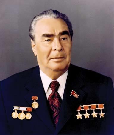 Leonid Brezhnev Leonid Ilich Brezhnev president of Union of Soviet
