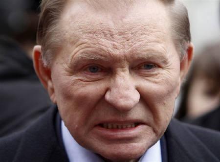 Leonid Kuchma Ukraine39s Kuchma charged over Gongadze murder Reuters