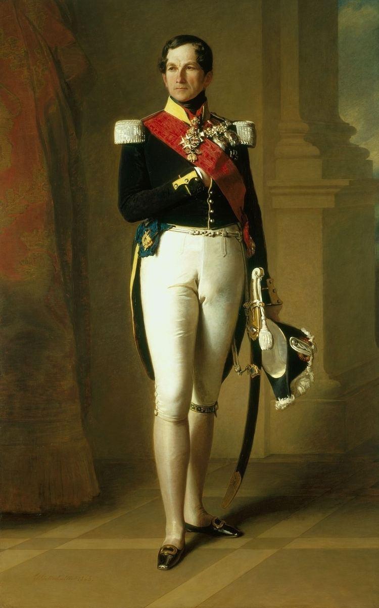 Leopold I of Belgium Portrait of Leopold I of Belgium Franz Xaver
