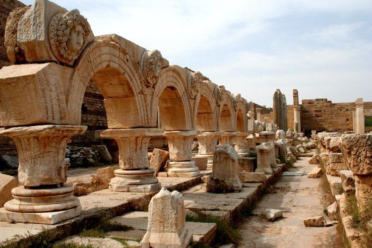 Leptis Magna in the past, History of Leptis Magna