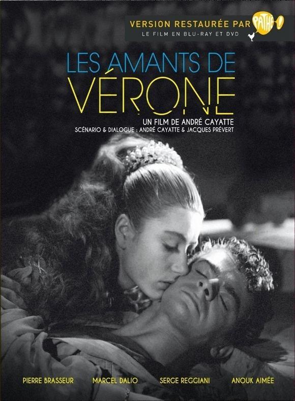 Les amants de Vérone DVD Les Amants de Vrone un film de Andr Cayatte critikatcom