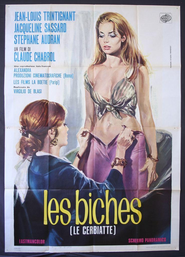 Les Biches (film) Les Biches Bad Girls 1968 Starring JeanLouis Trintigna Flickr