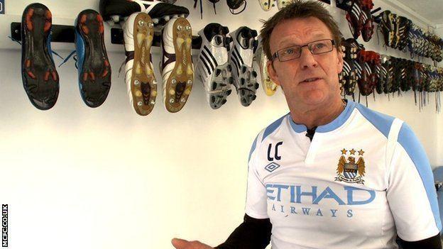 Les Chapman BBC Sport Tears tantrums and titles Les Chapman on 22