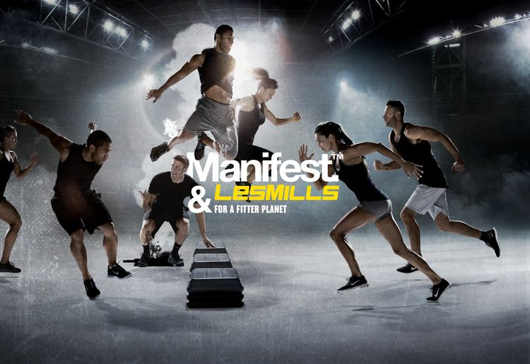 Les Mills Les Mills works out with Manifest Communications as new