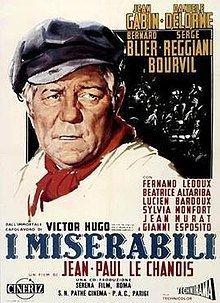 Les Misérables (1958 film) Les Misrables 1958 film Wikipedia