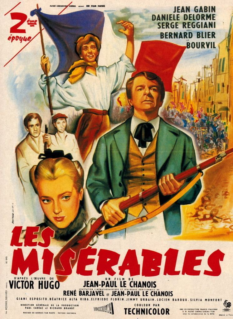 Les Misérables (1958 film) Les Miserables 1958 uniFrance Films