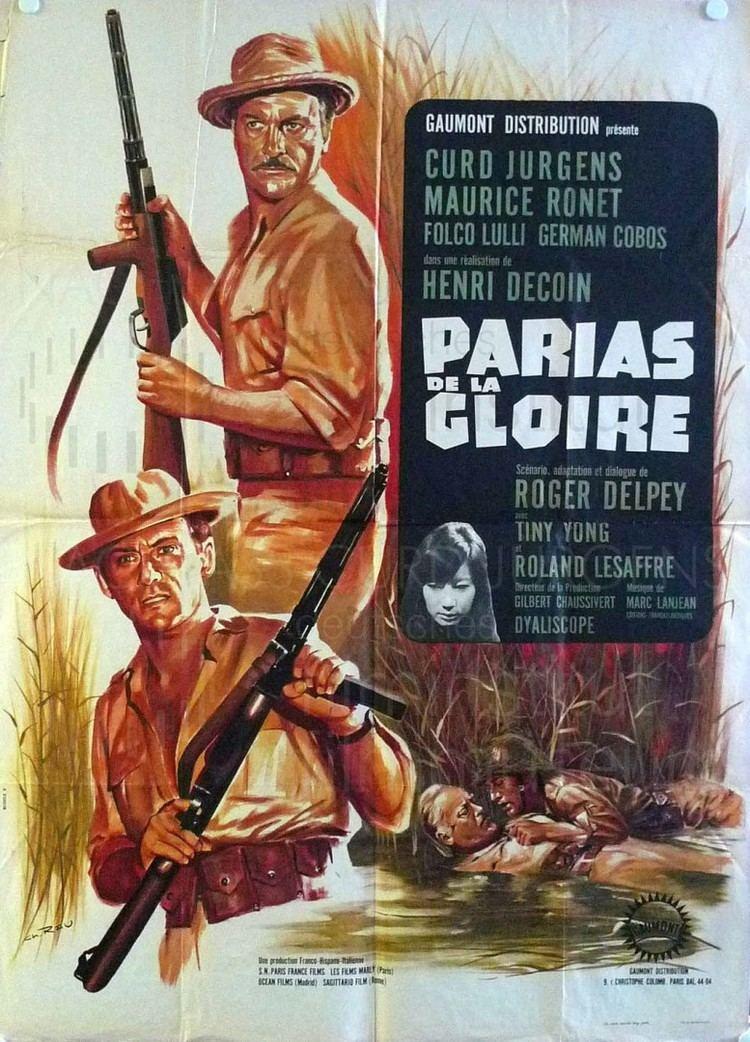 Les Parias de la gloire Nachlass Curd Jrgens LES PARIAS DE LA GLOIRE 1964 frz Plakat 2