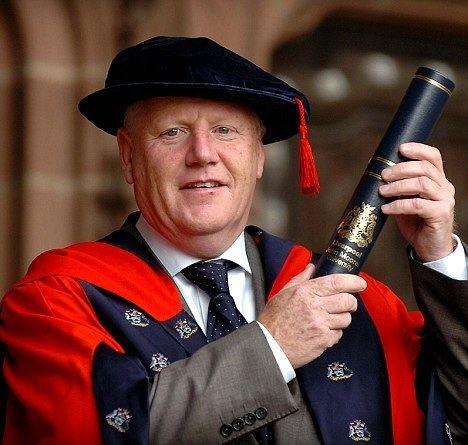 Les Parry Les Parry picks up PhD just weeks after saving Tranmere