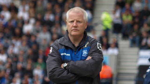 Les Parry BBC Sport Tranmere Rovers sack manager Les Parry