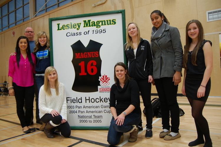 Lesley Magnus Southern Okanagan Secondary School honours FHC alumna Lesley Magnus
