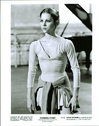 Leslie Browne Leslie Browne in The Turning Point 8x10 still 1977 at