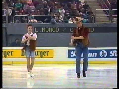 Leslie Monod Leslie Monod Cdric Monod SUI 1992 European Championships Gala