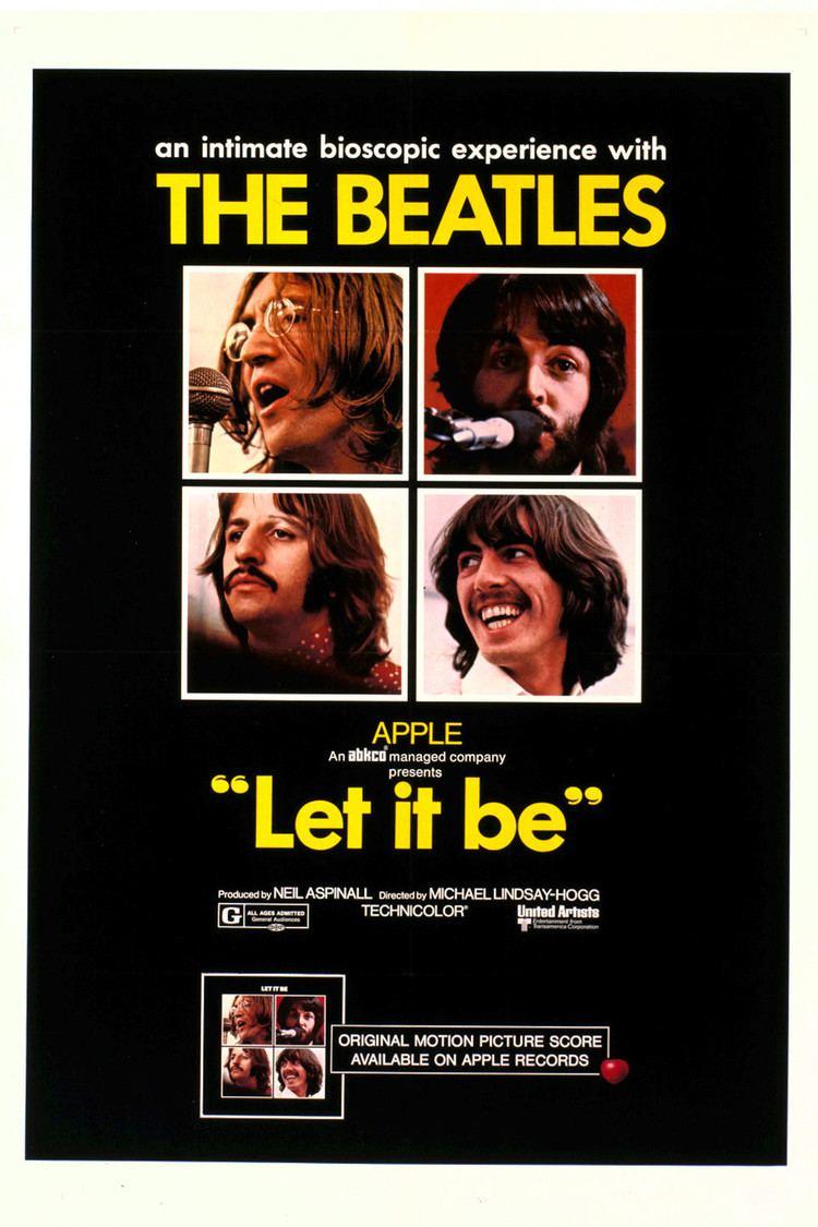 Let It Be (1970 film) wwwgstaticcomtvthumbmovieposters44470p44470