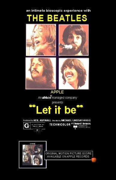 Let It Be (1970 film) The Beatles A Look Back at Let it Be the Film ZRockR Magazine