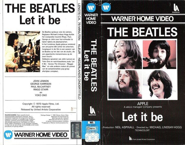 Let It Be (1970 film) The Daily Beatle Let It Be