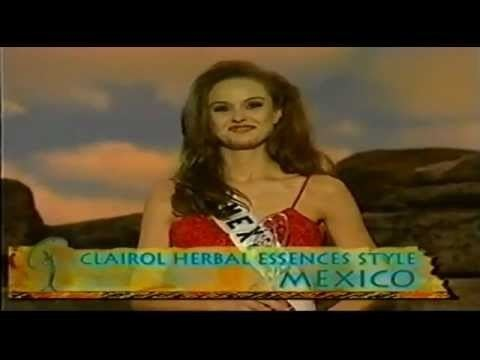 Leticia Murray Leticia Murray Miss Mexico At Miss Universe 2000 YouTube