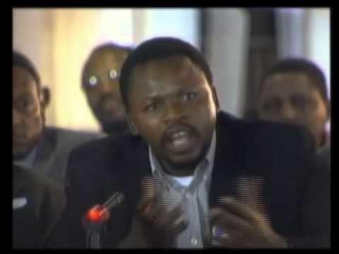 Letlapa Mphahlele PAC OF AZANIA LETLAPA MPHAHLELE AT THE NEO COLONIAL TRC YouTube