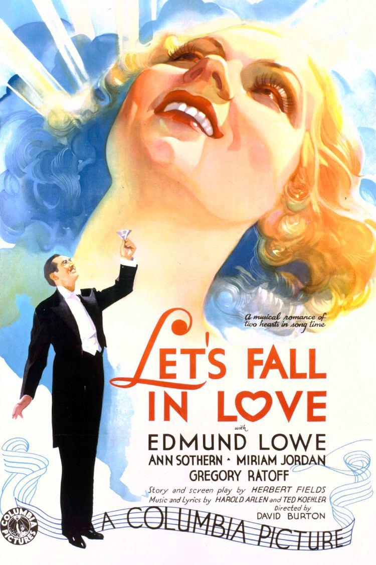 Let's Fall in Love (film) wwwgstaticcomtvthumbmovieposters57957p57957