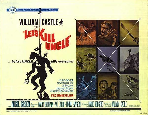 Let's Kill Uncle William Castle Blogathon Lets Kill Uncle 1966 She Blogged By Night