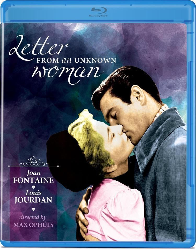 Letter from an Unknown Woman (1948 film) Letter from an Unknown Woman Bluray