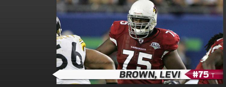 Levi Brown (offensive tackle) Arizona Cardinals Levi Brown