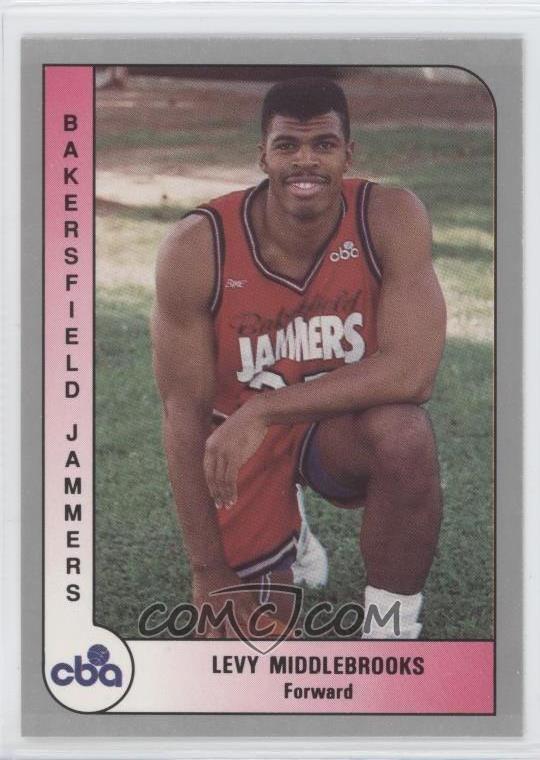 Levy Middlebrooks 199192 ProCards CBA Base 6 Levy Middlebrooks COMC Card