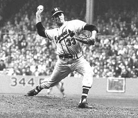 Lew Burdette 1960s Baseball Blog One Pitch Shy of Perfection