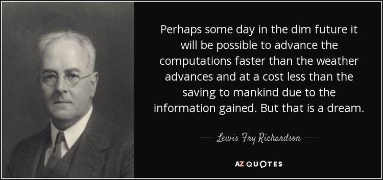 Lewis Fry Richardson - Alchetron, The Free Social Encyclopedia
