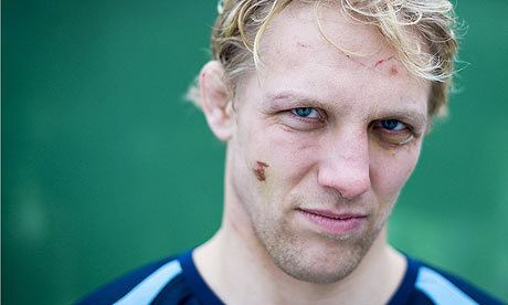 Lewis Moody Battered and trophyladen Lewis Moody39s enthusiasm