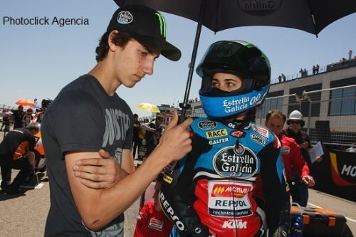 Álex Rins Life and motorracing and whatnot Rins functioning as Maria