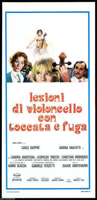 Lezioni di violoncello con toccata e fuga Lezioni di violoncello con toccata e fuga 1976 FilmTVit