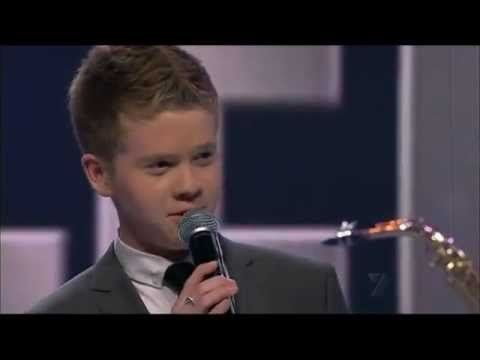Liam Burrows Australias Got Talent 2011 Liam Burrows Come Fly With Me YouTube