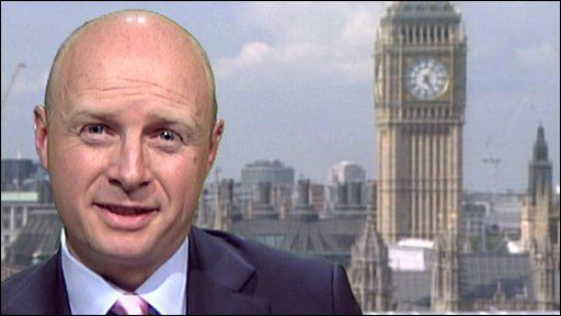 Liam Byrne BBC News Treasury chief39s note to successor There39s no