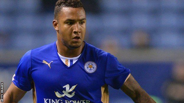 Liam Moore BBC Sport Liam Moore Leicester City defender out with