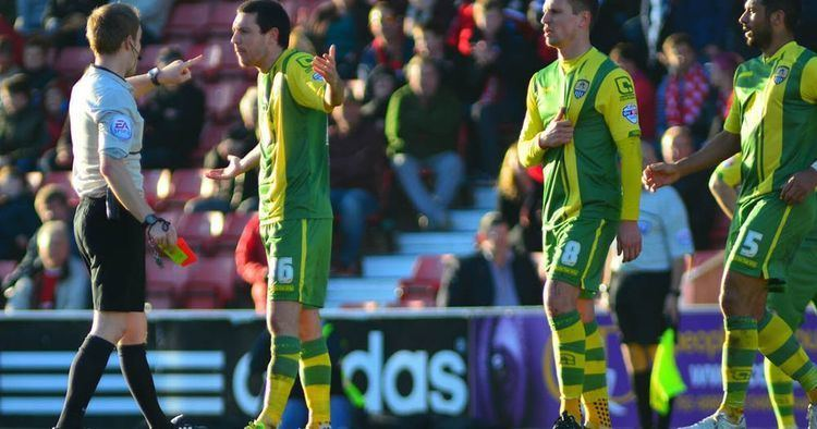 Liam Noble Notts County midfielder issues the most heartfelt apology in the