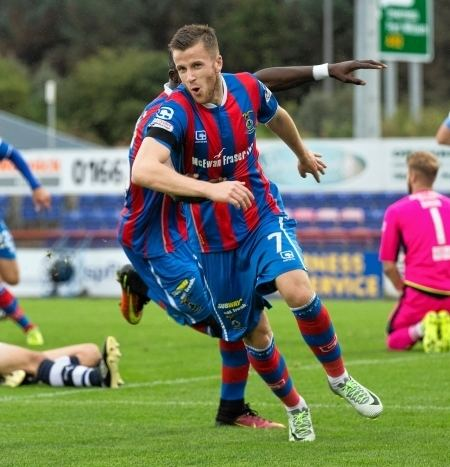 Liam Polworth Caley Thistle star Liam Polworth set for spell out with the door