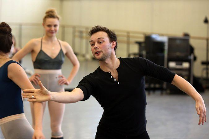 Liam Scarlett Liam Scarlett Creates a Work for City Ballet The New