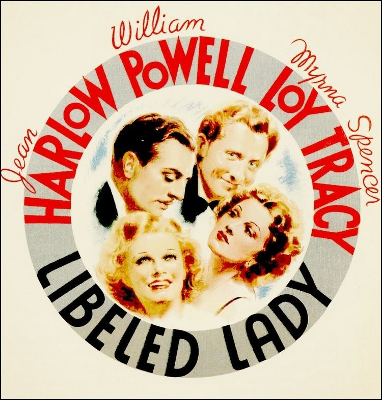 Libeled Lady Libeled Lady 1936 A BehindtheScenes Look Silver Scenes A