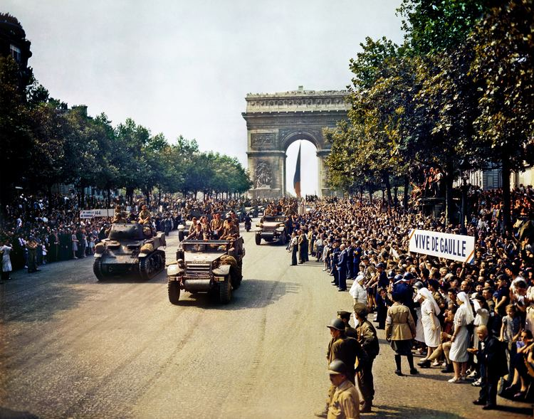 Liberation of Paris Liberation of Paris Wikipedia